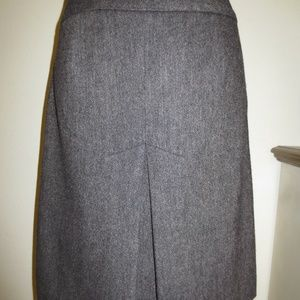 The Limited Brown Speckled Wool Blend Skirt - 2